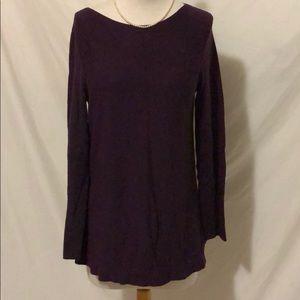 J Jill purple sweater size XS